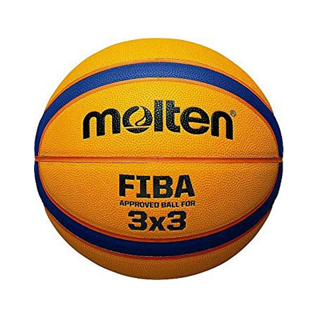 BALON DE BASQUETBOL MOLTEN 3X3 FIBA PIEL SINTETICA COMP...